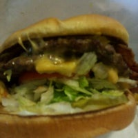 Photo taken at Bellaire Broiler Burger by Mark H. on 11/3/2011