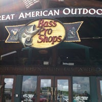 Photo taken at Bass Pro Shops by Lisa D. on 7/14/2012