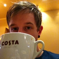 Photo taken at Costa Coffee by Hugh S. on 7/28/2012