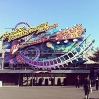 Photo taken at Rock'n' Roller Coaster With Aerosmith by Renke Y. on 5/18/2012