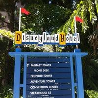 Photo taken at Disneyland Hotel by Sean R. on 6/30/2012