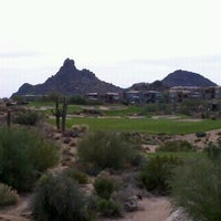 Photo taken at Troon North Golf Club by Garrette B. on 11/27/2011