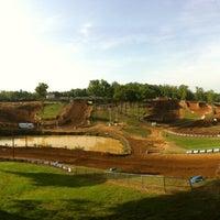 Photo taken at Budds Creek Motocross by Jeremy S. on 5/5/2012