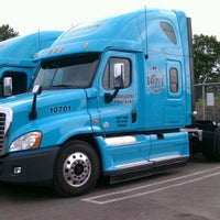 Photo taken at Gordon Trucking by feather in the wind E. on 8/9/2012