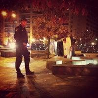 Photo taken at Frederick Douglass Circle by Emmanuel B. on 11/10/2011