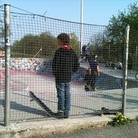 Photo taken at Skate Park by Ianira L. on 4/1/2012