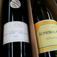 Photo taken at Evolution Wines & Spirits by Jami on 1/4/2012