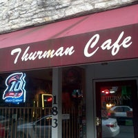 Photo taken at The Thurman Cafe by Austin H. on 8/22/2011