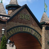 Photo taken at Canobie Lake Park by Travis D. on 8/28/2012