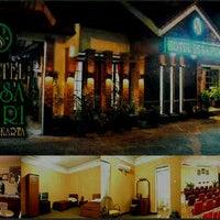 Photo taken at Hotel desa puri by Lenna M. on 1/22/2012
