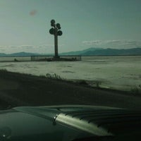 Photo taken at Metaphor: The Tree Of Utah by Raul G. on 4/29/2012