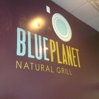 Photo taken at Blue Planet Natural Grill by Tara H. on 6/10/2012