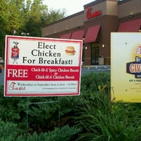 Photo taken at Chick-fil-A Belmont by Brad H. on 9/28/2011