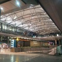 Photo taken at Rajiv Gandhi International Airport (HYD) by Abrachan P. on 9/20/2011