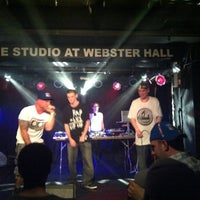 Photo taken at The Studio at Webster Hall by Rodrigo L. on 5/25/2012