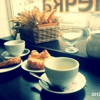 Photo taken at Petrovskie bulochnie by Серафима К. on 6/2/2012