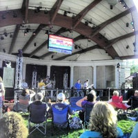 Photo taken at Warren Community Amphitheatre by Chad S. on 8/18/2012