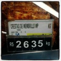 Photo taken at Supermercado Angeloni by Mário G. on 8/10/2012
