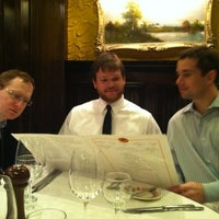 Photo taken at Sparks Steak House by Drew S. on 3/10/2012
