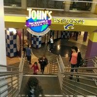Photo taken at John's Incredible Pizza Company by johana T. on 4/2/2012