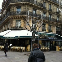 Photo taken at Les Deux Magots by Risto K. on 3/7/2012