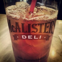 Photo taken at McAlister's Deli by Jon F. on 4/6/2012
