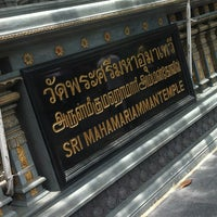 Photo taken at วัดพระศรีมหาอุมาเทวี (วัดแขก) Sri Mahamariamman Temple by Onizugolf on 6/4/2012