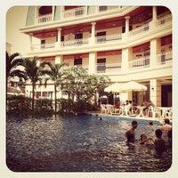 Photo taken at Kalim Resort by Hideyuki K. on 2/27/2012