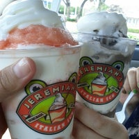 Photo taken at Jeremiah's Italian Ice by Angela O. on 7/3/2012