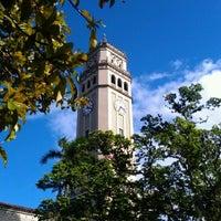 Photo taken at Universidad de Puerto Rico by Héctor L. on 3/8/2012