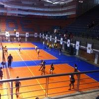 Photo taken at Complejo Panamericano de Voleibol by Orlando B. on 8/9/2012