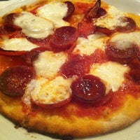 Photo taken at Ella's Wood-Fired Pizza by Kelly G. on 3/16/2012