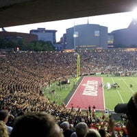 Photo taken at Nippert Stadium by Courtney S. on 9/7/2012