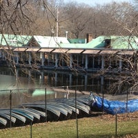 Photo taken at Central Park Boathouse by Jennifer M. on 2/18/2012