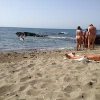 Photo taken at Playa De Benalnatura by Diego Marfil on 7/12/2012