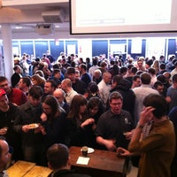 Photo taken at Get Real NY 'aPORKalypse' Beer Event by Stephanie V. on 2/25/2012