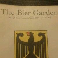 Photo taken at Bier Garden by Julian R. on 11/6/2011