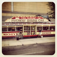 Photo taken at Mickey's Diner by Jeff A. on 7/19/2012