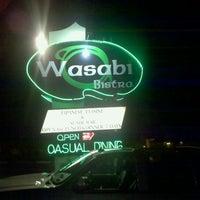 Photo taken at Wasabi Bistro by Jason on 11/26/2011