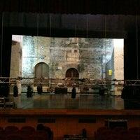 Photo taken at Teatro Giuseppe Manini by Luca L. on 12/3/2011