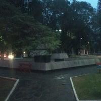 Photo taken at Praça Borges de Medeiros by Postayweb on 7/3/2012