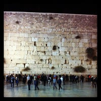 Photo taken at The Western Wall (Kotel) by Rachel C. on 11/9/2011