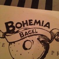 Photo taken at Bohemia Bagel by Pavel B. on 4/4/2012