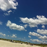 Photo taken at East Atlantic Beach by Maria V. on 7/14/2011