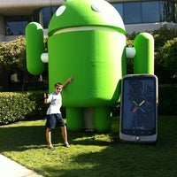 Photo taken at Googleplex - 44 by Joseph H. on 7/30/2011