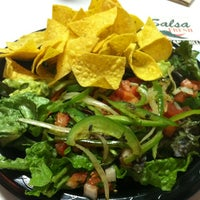 Photo taken at Salsa Fresh Mexican Grill by Rebecca S. on 2/1/2012