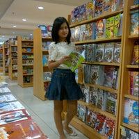 Photo taken at Gramedia by prunella L. on 7/6/2012