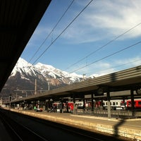 Das Foto wurde bei Innsbruck Hauptbahnhof von Martijn am 3/21/2012 aufgenommen