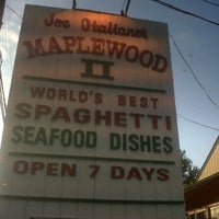 Photo taken at Joe Italiano's Maplewood II by david k. on 9/2/2011