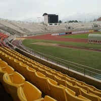 Photo taken at 700th Anniversary Chiangmai Sports Complex by ladiizbee k. on 7/28/2012